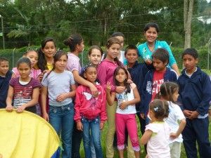 Gruppe beim Ausflug